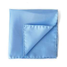 Pocket Square Bleu d'Enfer