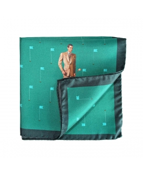 golf pocket square