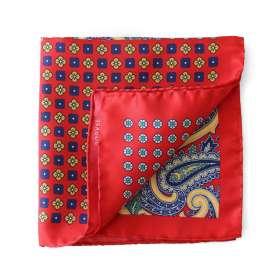 Pocket Square FOURmidable - Red