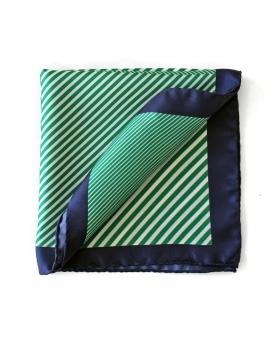 Pochette 4 en 1 rayures - Vert