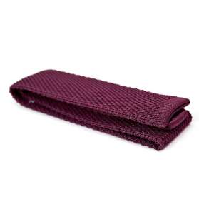 Cotton Knitted Tie - Cherry Lee Lewis