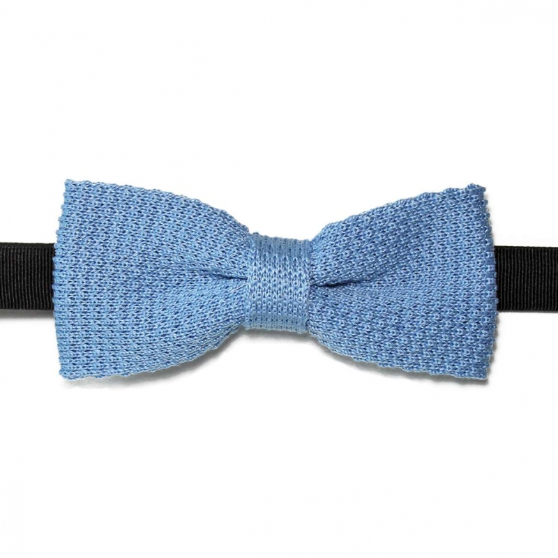 bow tie light blue