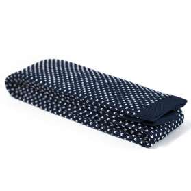Cravate Tricot Navy Lynch