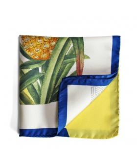 Pocket Square Pin-up & Pineapple