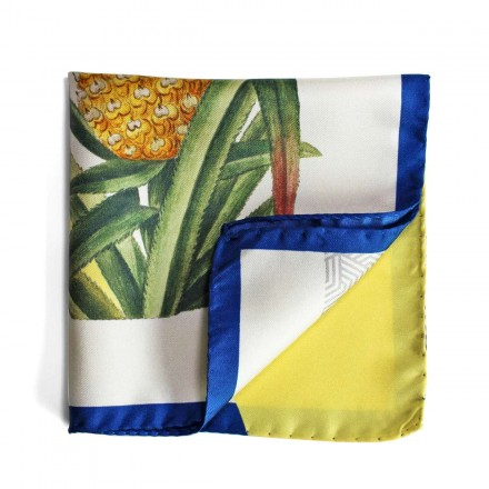 Pochette de Costume Pin-up & ananas