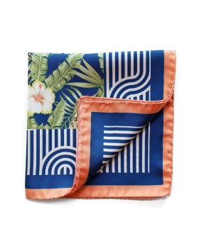 Pochette de Costume motif jungle