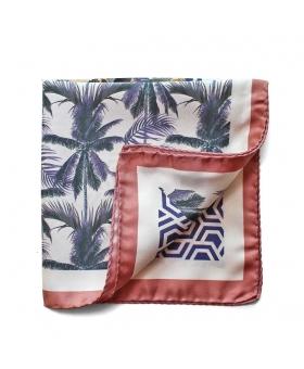 Pochette de Costume singe palmiers