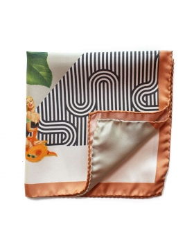 Pochette de Costume Pin-up & Orange