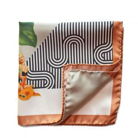 Pochette de Costume Pin-up & Orange