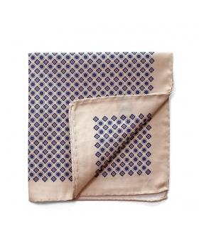 Pocket Square cotton beige