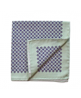 Pocket Square cotton green