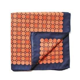 Pochette de Costume Dandy Blues - Orange