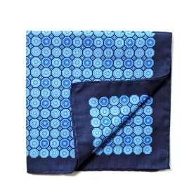 Pochette de Costume Dandy Blue - Bleu