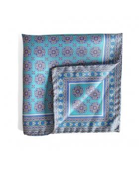 Pocket Square Laholi - Turquoise