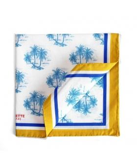 Pochette de Costume motif palmiers