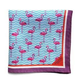 Pochette de Costume Purple Flamingo