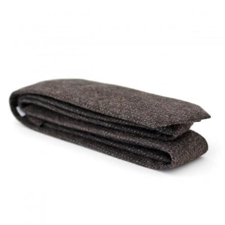 100% cotton brown tie