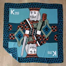 Silk scarf - King of Pop