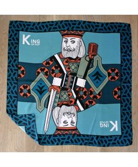 Foulard Soie - King of Pop