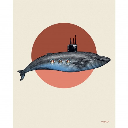Affiche The subwhale - 40x50cm
