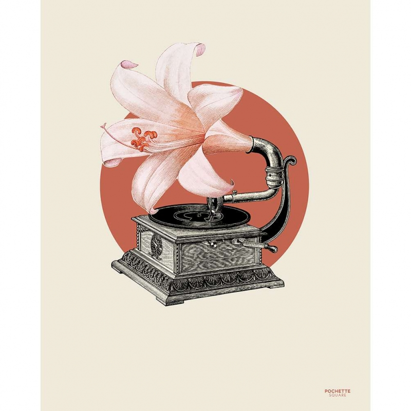 Poster The Phonoflower - 40x50cm
