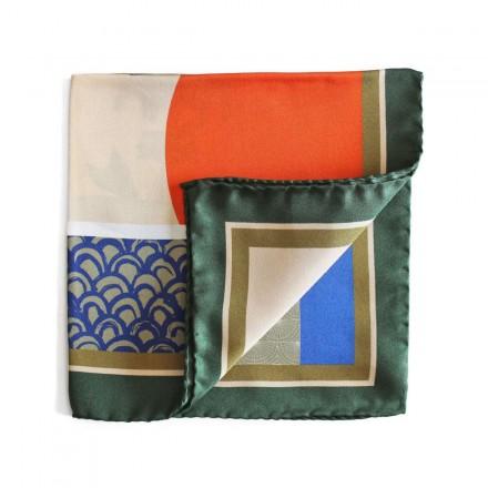 Pocket Square silk The Aerofish