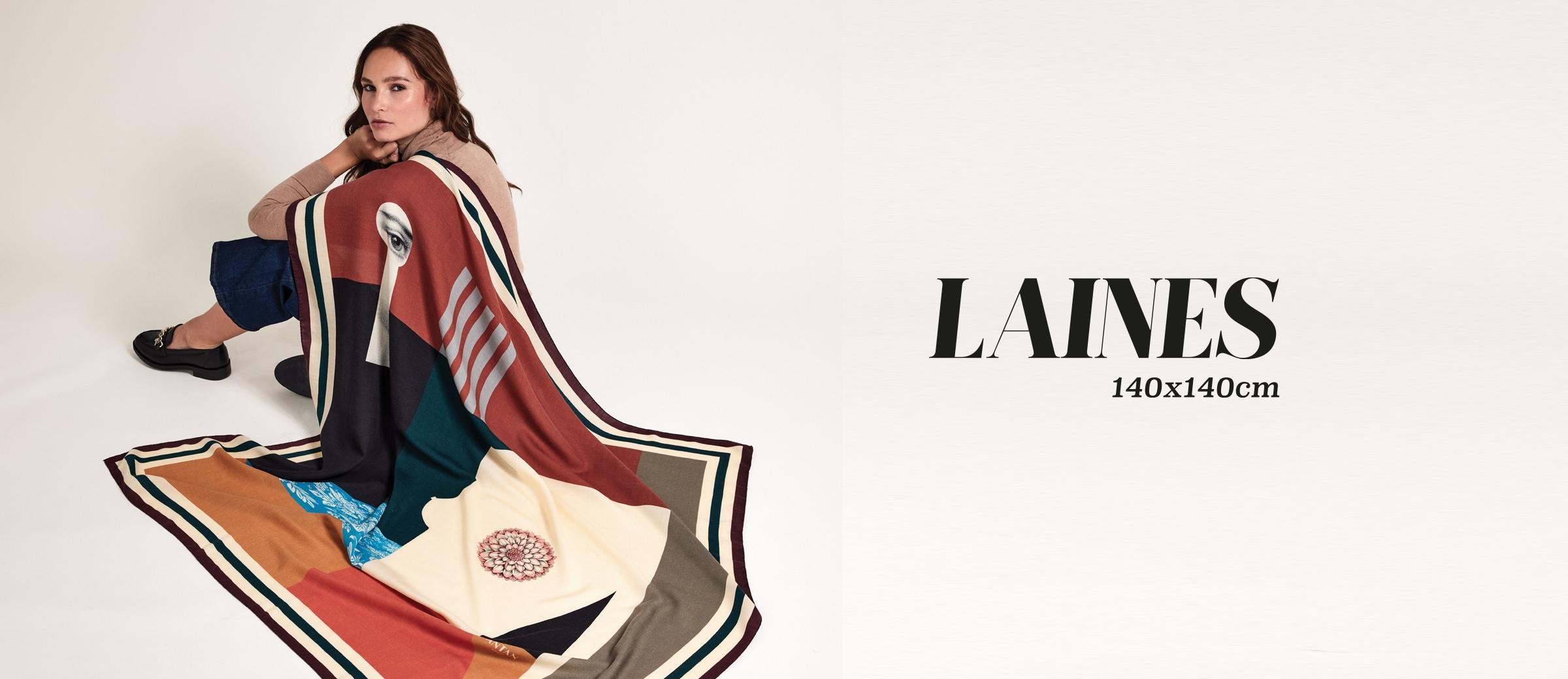 Wool Scarf 140x140cm