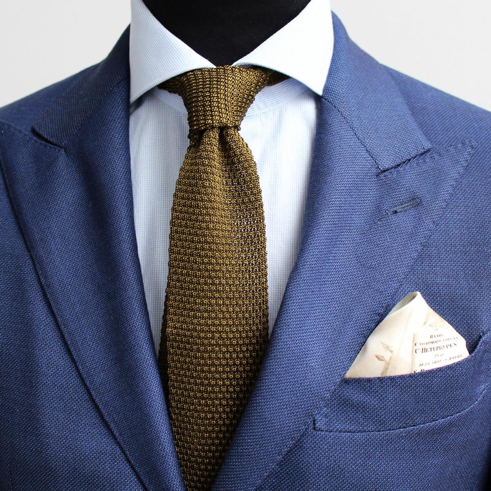 Cravate tricot