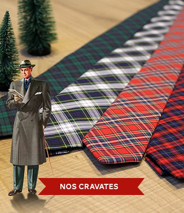 cravates cousues main