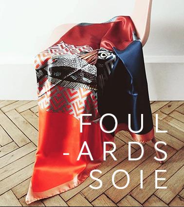 foulards en soie made in italy