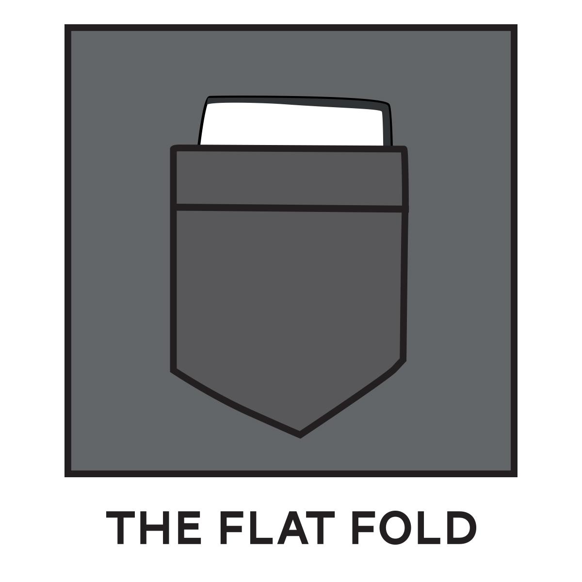 Flat Fold Pocket Square