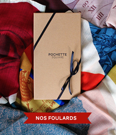 Foulards et carrés de soie Pochette Square