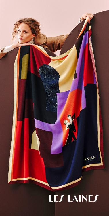 foulard laine antan creations