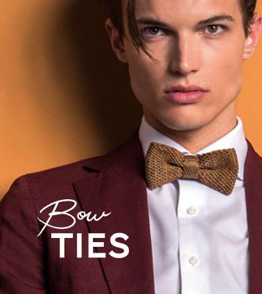 bow tie pochette square