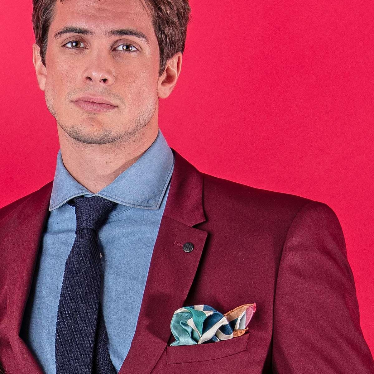 éclatant original à chaud check-out Cravate homme | Conseil mode homme |Pochette Square