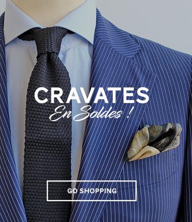 cravates en soldes