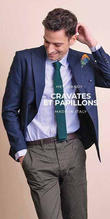 cravate pochette square