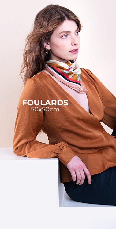 foulard soie pochette square