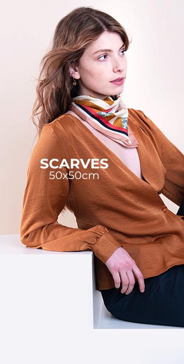 scarf silk pochette square