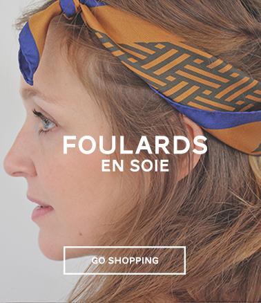 foulard gavroche en soie