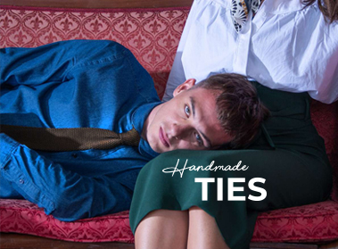 handmade ties pochette square