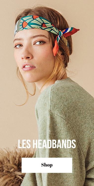 headband pochette square