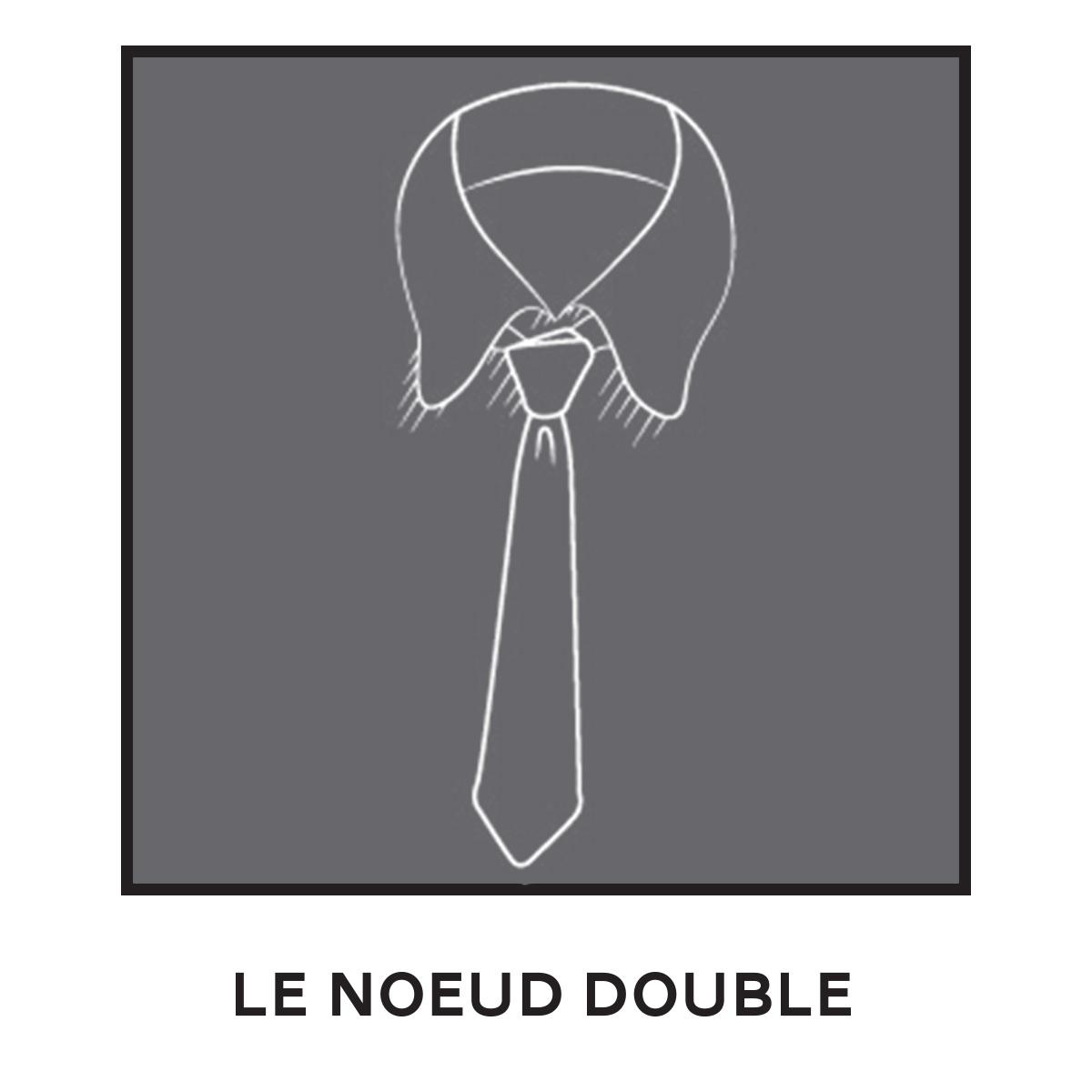 Cravate Noeud Double