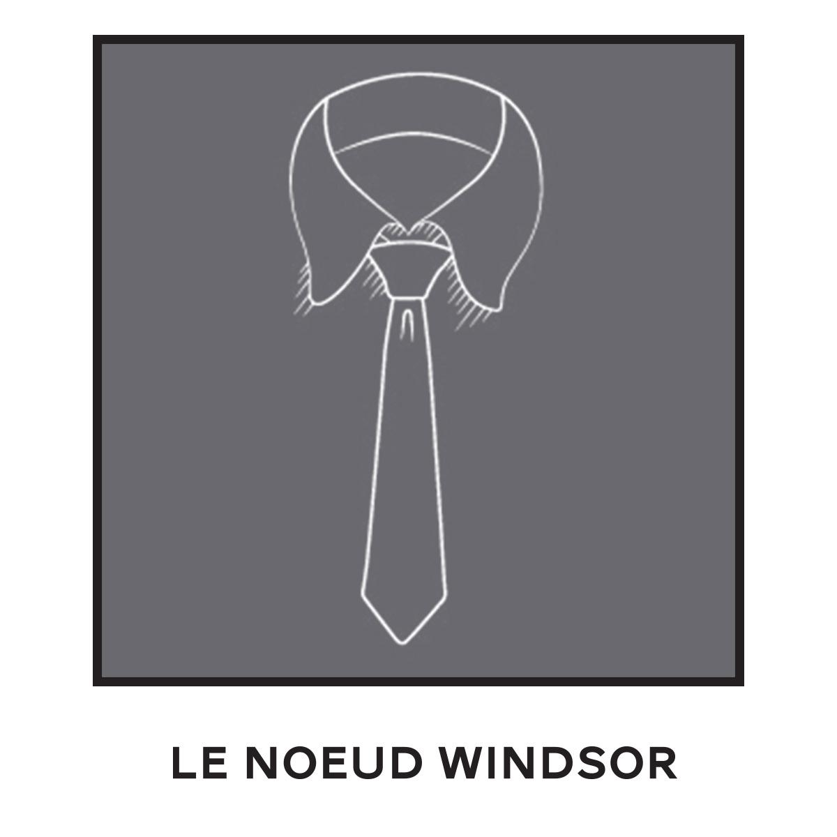 Cravate Noeud Windsor