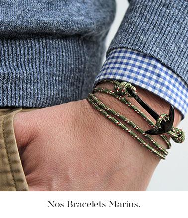 nos bracelets marins