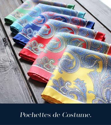 Pochettes de Costume Pochette Squre