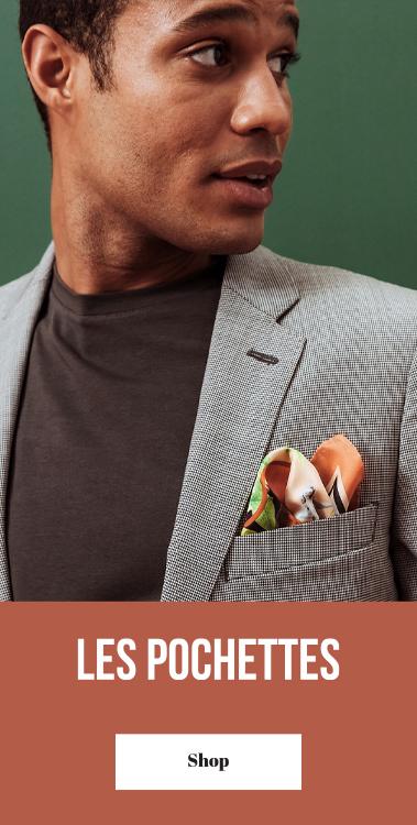 pochette costume soie pochette square