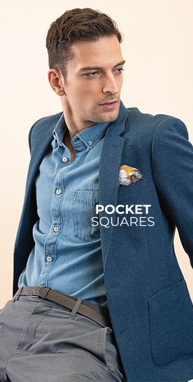 pocket square silk pochette square