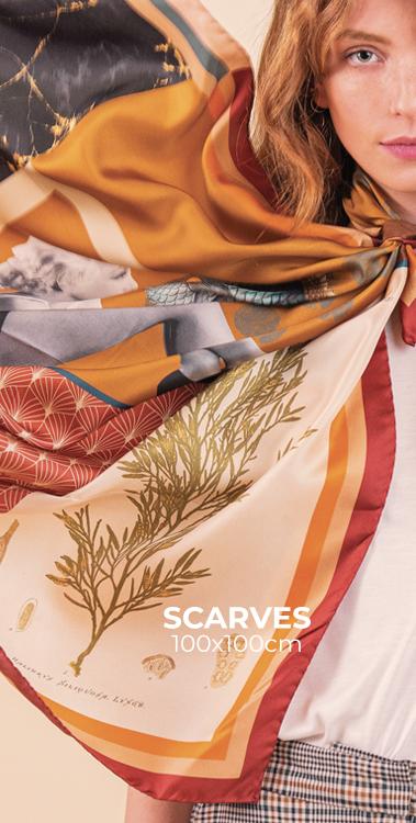 silk scarves pochette square
