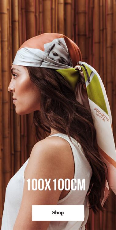 foulard pochette square